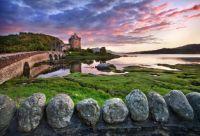 Eilean Donan Castle, near the Isle of Skye
