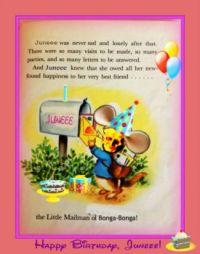 Happeee Birthday, Juneee!.....