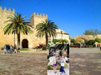 Alcudia-old-town and my avatar