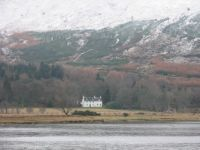Home alone, Loch Awe Scotland