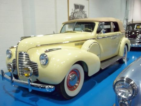 Buick 1940 4-door convertible