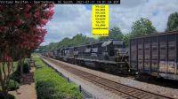 7-Lead Lashup NS train#153 Spartanburg,SC/USA
