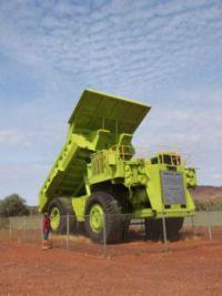 Haul truck at Paraburdoo