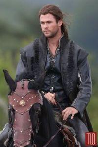 "Chris Hemsworth in ""The Huntsman"""