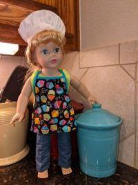 Barefoot Baker Doll