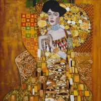 Portrait of Adele Bloch-Bauer I by Gustav Klimt OSA203
