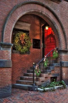 Beacon Hill doorway