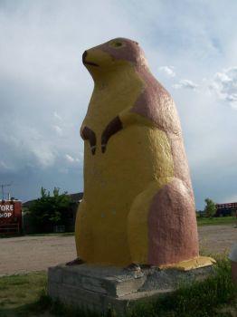 Prairie Dog statue