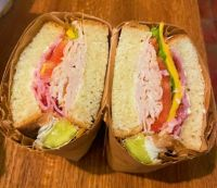 Carson Street Deli. Pittsburgh. Club sandwich