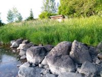 Stones by the water. Viannankoski, Finland.