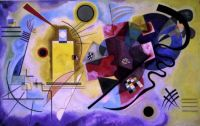 Yellow-red-blue - Kandinsky