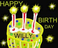 Happy Birthday Willy !!!