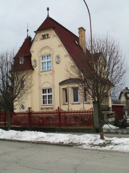 romantic house, Sumperk cz