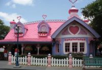 Minnie Mouse's Pink & Purple Cottage at Disney World