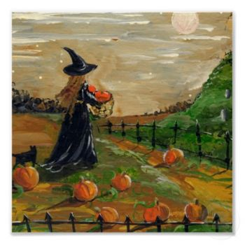 pumpkin patch witch