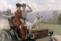 "Julius LeBlanc Stewart, ""The Goldsmith Ladies ... in a Peugeot"""