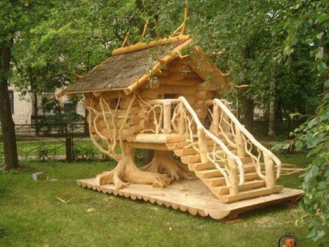 Would have enjoyed this playhouse as a kid