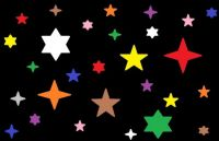 Wobblybear Creations 517 - (now FREE to own) - Abstract 06052021 Stars (Medium)