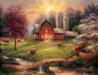 Barn with Bridge