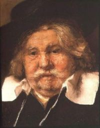 Rembrant (detail) portrait of a old man