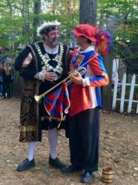 King Henry VIII and Herald