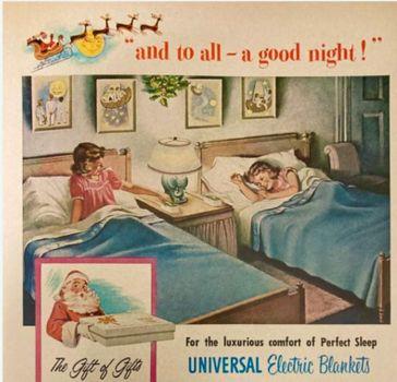 Universal Blankets ad