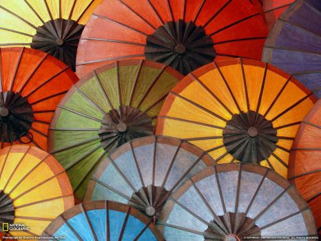 colourful umbrella 300