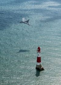 Camo plane, lighthouse with personalty