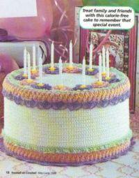 Calorie-Free Birthday Cake!