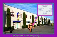Mr.Squirt's Shopping Expedition.....