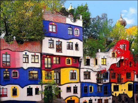 Vienna Hundertwasser House