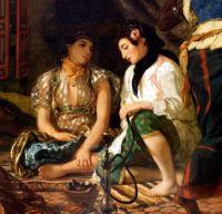 Femmes d'Alger - Eugène Delacroix