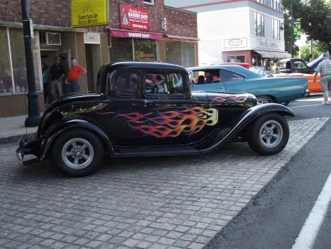 flameing ford