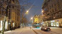 Wintery morning in Helsinki