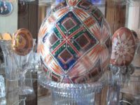 Ukrainian pysanky-chicken, ostrich and goose eggs