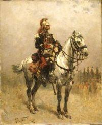 a cavalryman: 1884