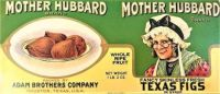Themes Vintage ads - Mother Hubbard Texas Figs