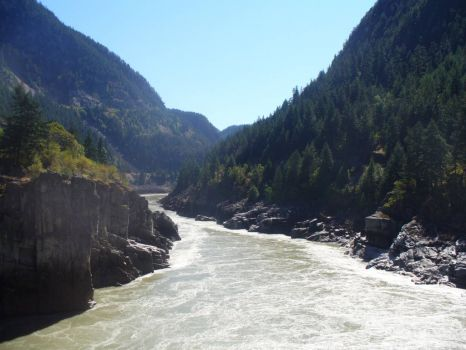 Fraser Canyon River