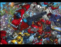 Transformers Ongoing Battle
