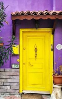 A Door So Yellow