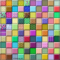 100 Colorful Blocks