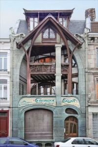 Maison Coilliot by Hector Guimard Lille