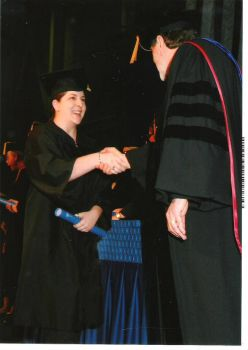 Carolyn's graduation from SUNY Fredonia 2012