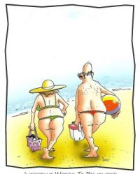 Two thongs don't make a right!