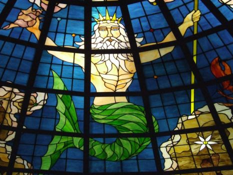 Virginia Beach! HUGE Stained Glass Detail!