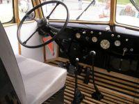 Praga RND Interiér kabiny autobusu