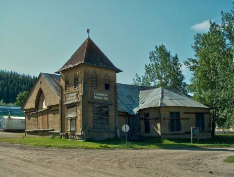 Old church in the Yukon