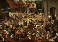 Pieter Brueghel, Strijd tussen carnaval en vasten, 1559