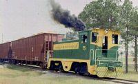 Warren & Saline River Railroad. Warren, Arkansas.