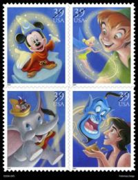 No longer this price Disney Postage Stamps!